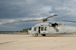 MH-60S bio-fuel seahawk helicopter