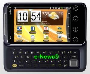 WiMax phone, HTC Evo Shift 4G