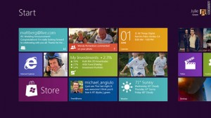 Microsoft gives peek at Windows8