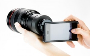 iPhone SLR Mount Brings Out the Best in Your iPhone's Camera