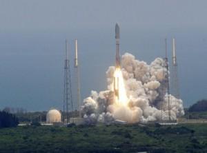 NASA launches spacecraft Juno toward Jupiter