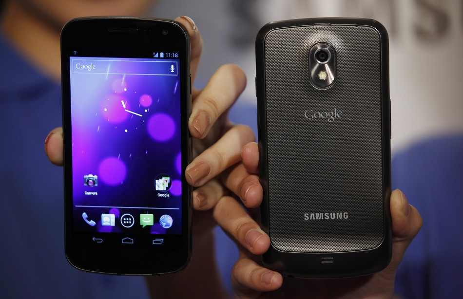 Samsung, Google unveil phone for revamped Android