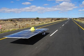 Japanese team wins Australian solar car race