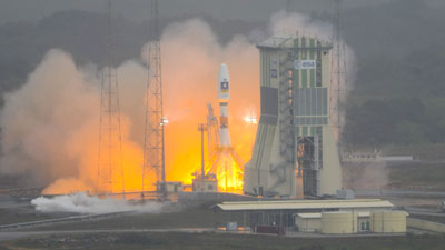 Europe's First Sat-Nav Satellites Launched