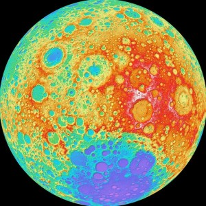 Nasa releases sharpest ever Moon elevation map