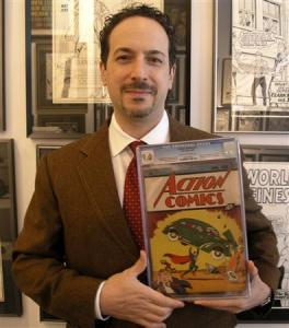 First Superman comic sells for record $2.2 million