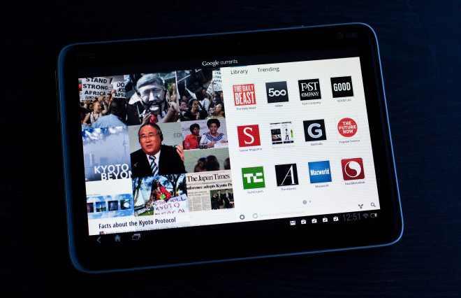 Google-Branded Tablet to Land in April