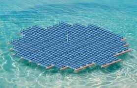 Startup Develops Floating Solar Farm