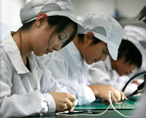 Apple's Chinese factories probed