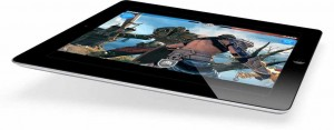 Apple's new iPad making waves in video game market