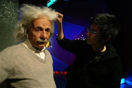 Einstein the scientist, dreamer, lover