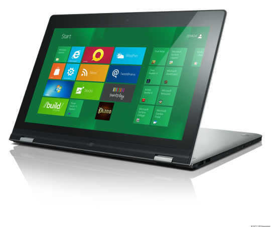 Lenovo plans will be first to make a Windows 8 tablet