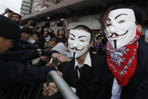 """""""Anonymous"""" says plans more attacks against China sites"""