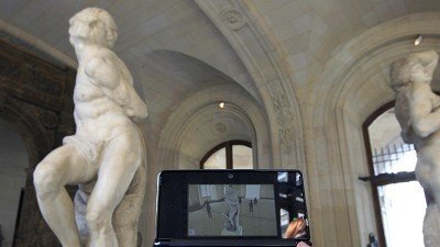 Louvre goes visual with 3Ds guide