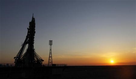 U.S., Russian crew blast off for space station