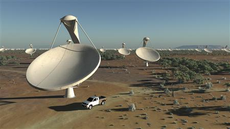 Giant telescope to explore far reaches of cosmos