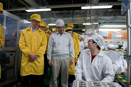 Apple assembly plant conditions still harsh in China-activists