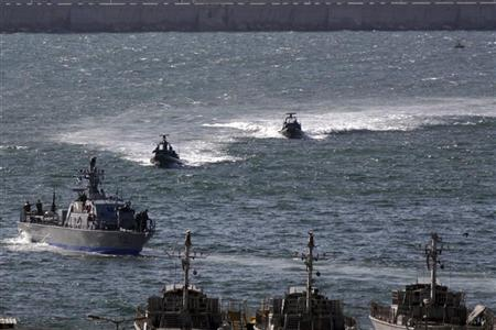 Israel gas finds launch navy into troubled waters