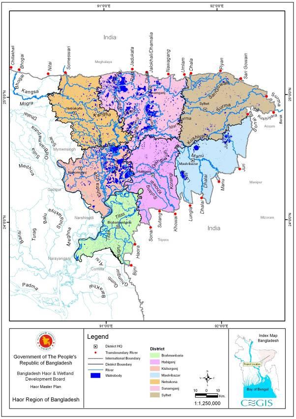 HAOR : Natural  Biodiversity Gene Bank of Freshwater  Wetlands