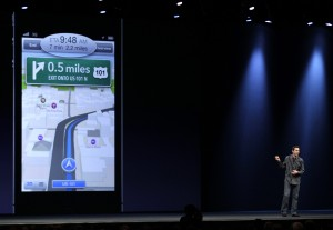Apple's car navigation plans hit Harman shares