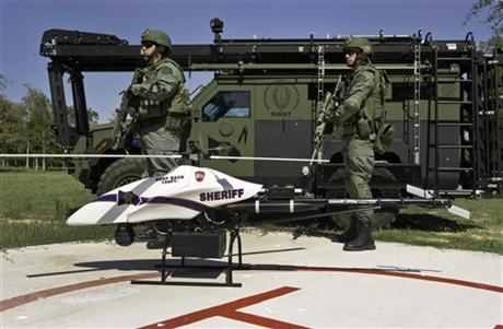 Talk of drones patrolling US skies spawns anxiety