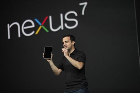 Google goes up against Amazon, Apple with Nexus tablet