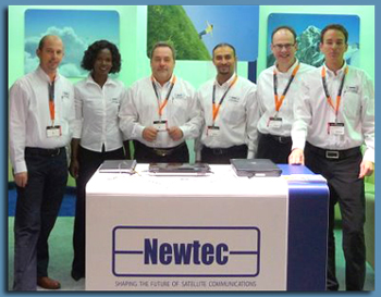Newtec Breaks Through the 500 Mbps Barrier
