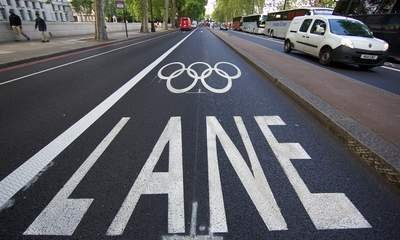 Mayor Says 'Lots' Of Olympic Travel Lanes Closed