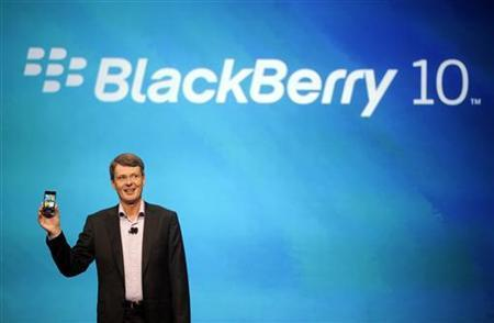 """RIM CEO says """"nothing wrong"""" with BlackBerry maker"""