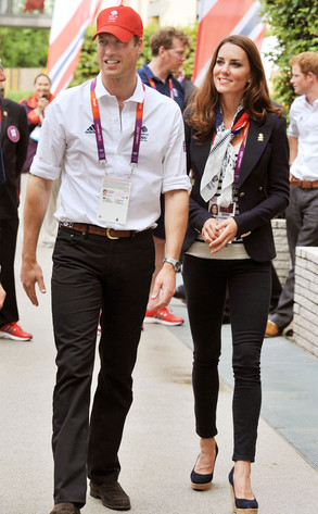 Prince William, Kate Middleton and Prince Harry Meet Team GB, Cheer on England's First Olympic Gold