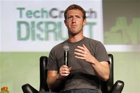After Zuckerberg talks, Facebook gains $6.8 billion