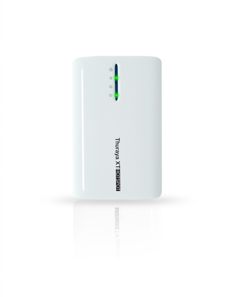Thuraya Launches The Mobile Satellite Industry's Fastest Handheld Hotspot