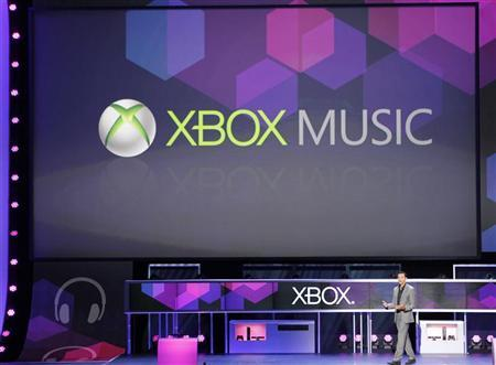 Microsoft debuts Xbox music service to take on Apple