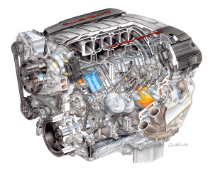 GM reveals all-new Corvette engine