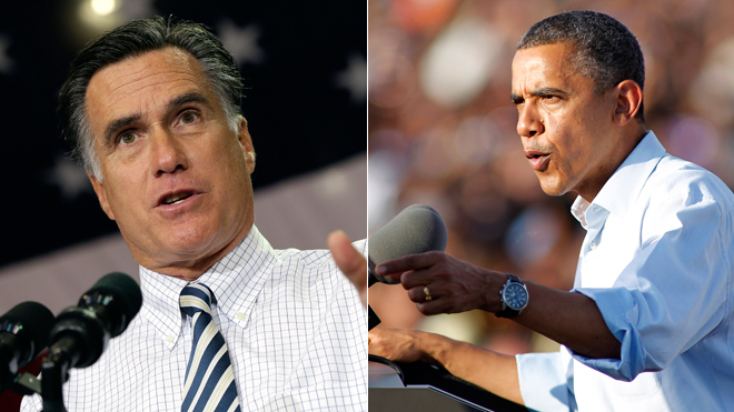Obama, Romney take long campaign journey into final day