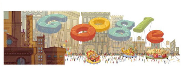 Google Celebrates Thanksgiving With a Doodle and a Holiday Guide