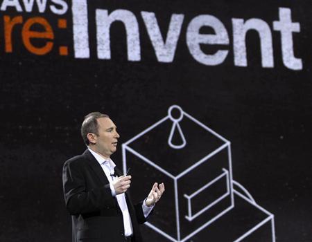 "Amazon's cloud chief targets ""old guard"" tech giants"