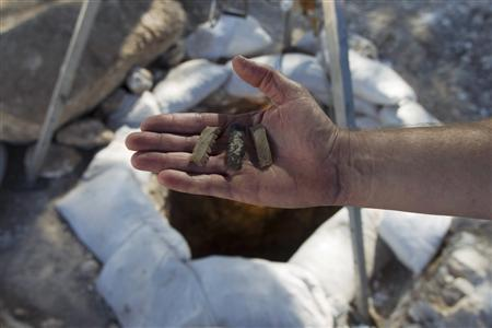 Israeli archaeologists ponder possible whodunit