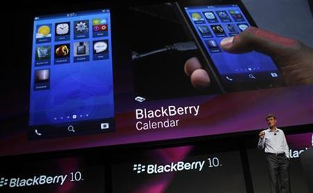 RIM's BlackBerry 10 platform wins coveted U.S. security clearance