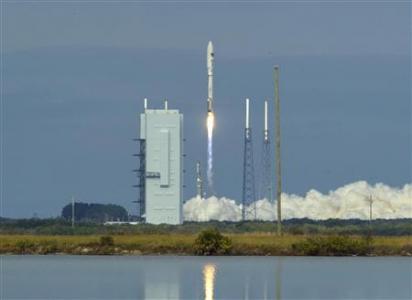U.S. military's secret mini-shuttle lifts off from Florida