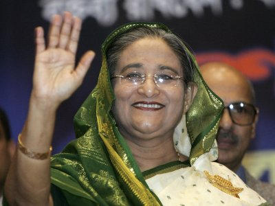 Bangladesh's Prime Minister flies to Moscow on Jan 14