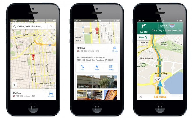 Google Promotes iOS Apps After Maps Success