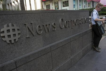 News Corp, popular tech blog contemplate split-sources