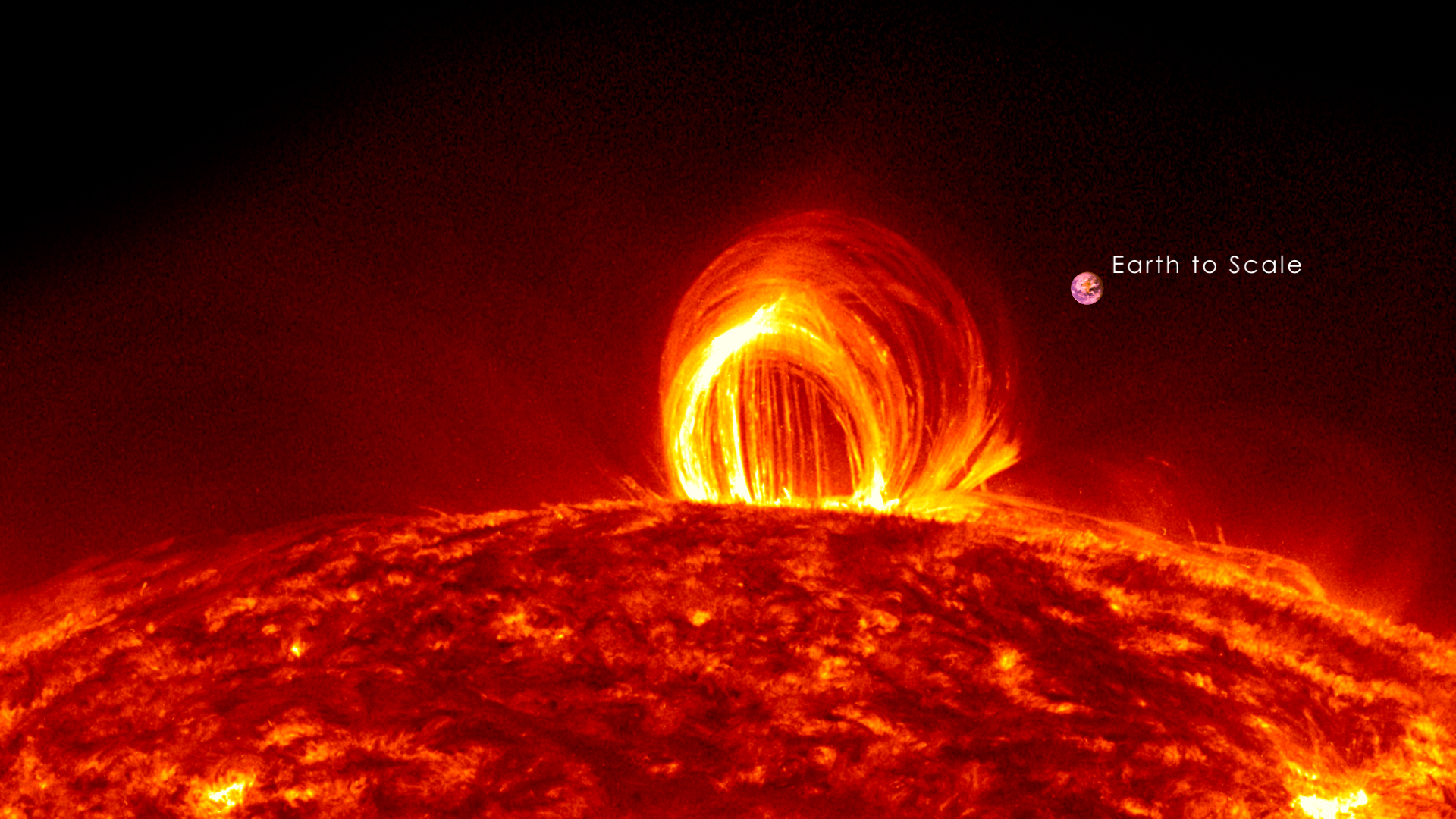 In Case You Forgot, the Sun Is a Giant Ball of Fire