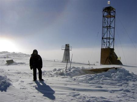 Russian scientists may have found new life under Antarctic ice