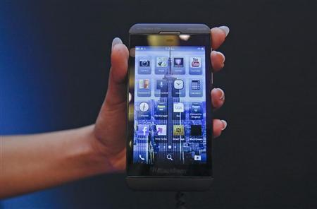 BlackBerry faces crucial test with U.S. launch of Z10