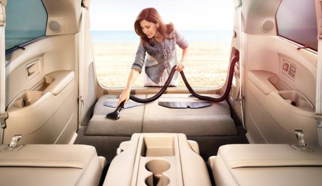 Honda's New Odyssey Minivan Has a Built-In Vacuum