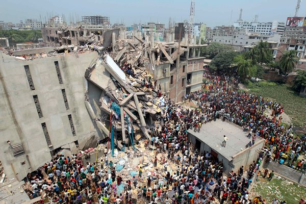 Scores Dead and Hundreds Feared Trapped in Bangladesh Building Collapse
