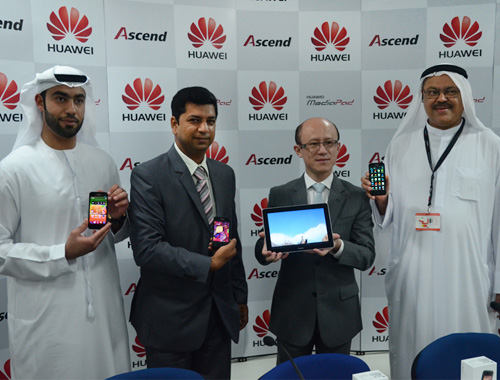 Huawei's Middle East revenue rose 18 percent in 2012
