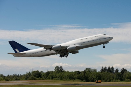 Boeing Begins Certification Testing on 747-8 Performance Improvements